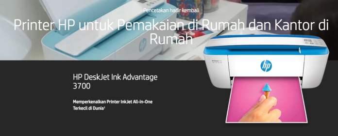 Printer HP untuk Pemakaian di Rumah dan Kantor di Rumah
