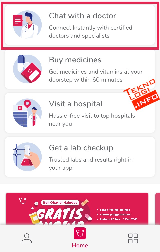 Chat with a doctor - Hubungi dokter