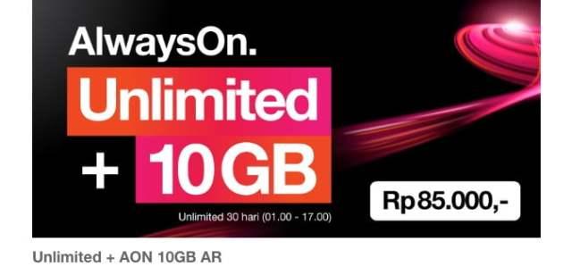AlwaysOn Unlimited 10GB