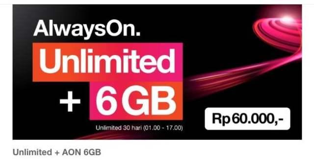TRI unlimited AON 6GB