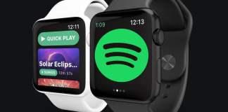 Dengarkan Spotify di Apple Watch