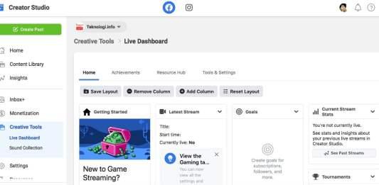 Facebook Gaming Creator Studio Indonesia