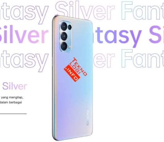 OPPO Reno5 Indonesia Fantasy Silver