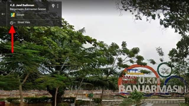 histori di Google Street View