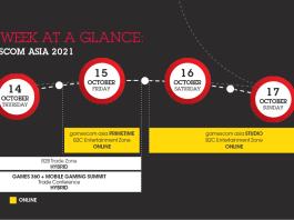 Event gamescomasia 2021