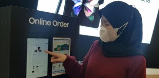 Penggunaan layanan Online Order Samsung Galaxy