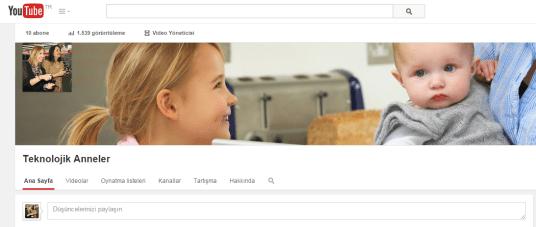 youtube teknolojik anneler