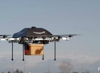 Pengiriman Paket Pos dengan Drone