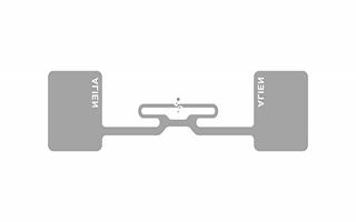 Alien Aln 9768 RFID Etiket