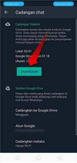 Terbaru Cara Mudah Backup Chat Wa Di Android Teknoride