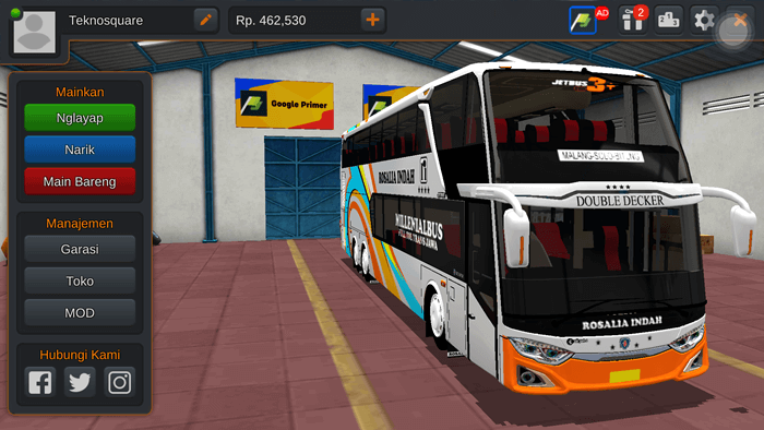 Livery Jetbus 3+ SDD Facelift By MD Creation