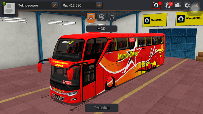 MOD BUSSID Jetbus 3+ UHD V3 by WSP