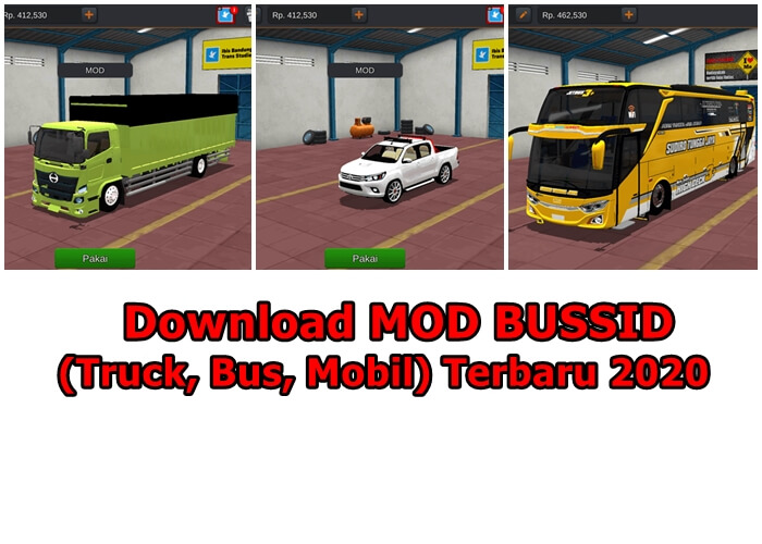 [Part 2] Download MOD BUSSID (Truck, Bus, Mobil) Terbaru 2020