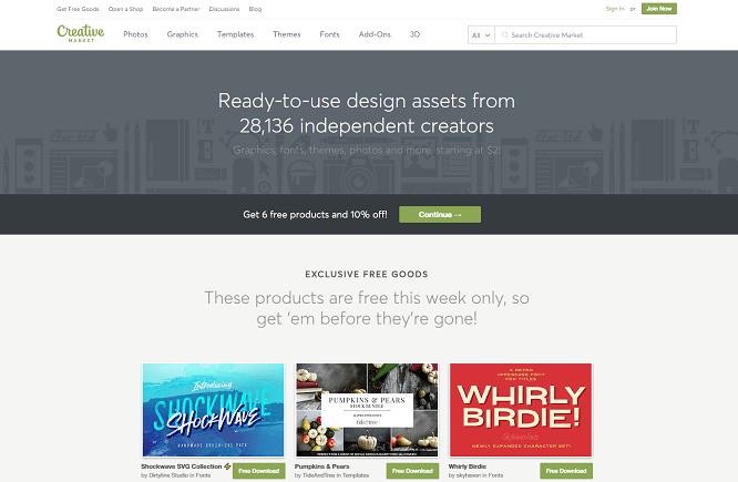 Creative-Market-wp-tema