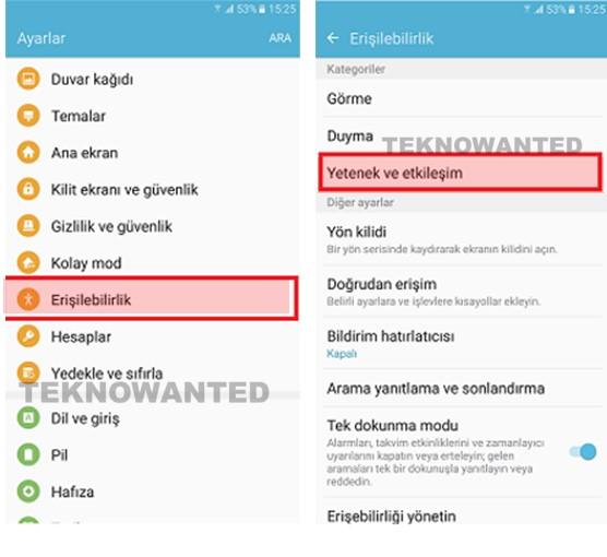 Galaxy Note 5 ekrana dokunmadan Ekran açma özelliği (2)