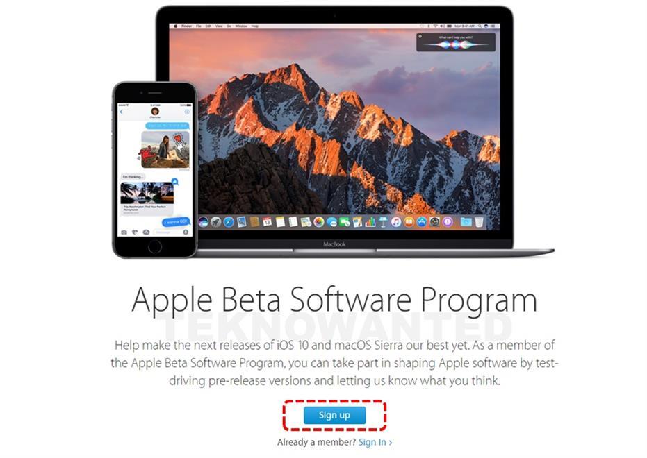 Apple Beta Software Program üyelik-1