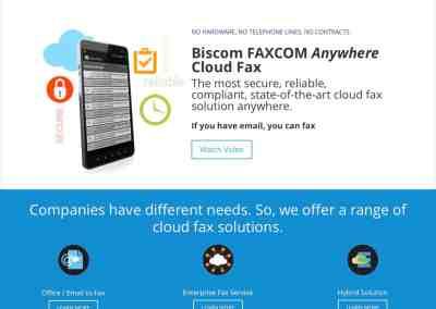 Biscom CloudFax