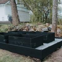 Att bygga en odlingsplats med pallkragar