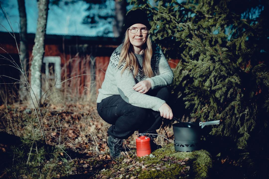 real turmat, laga mat i skogen, laga mat i naturen, stormkök, vandringsmat, primus primetech, primus stormkök