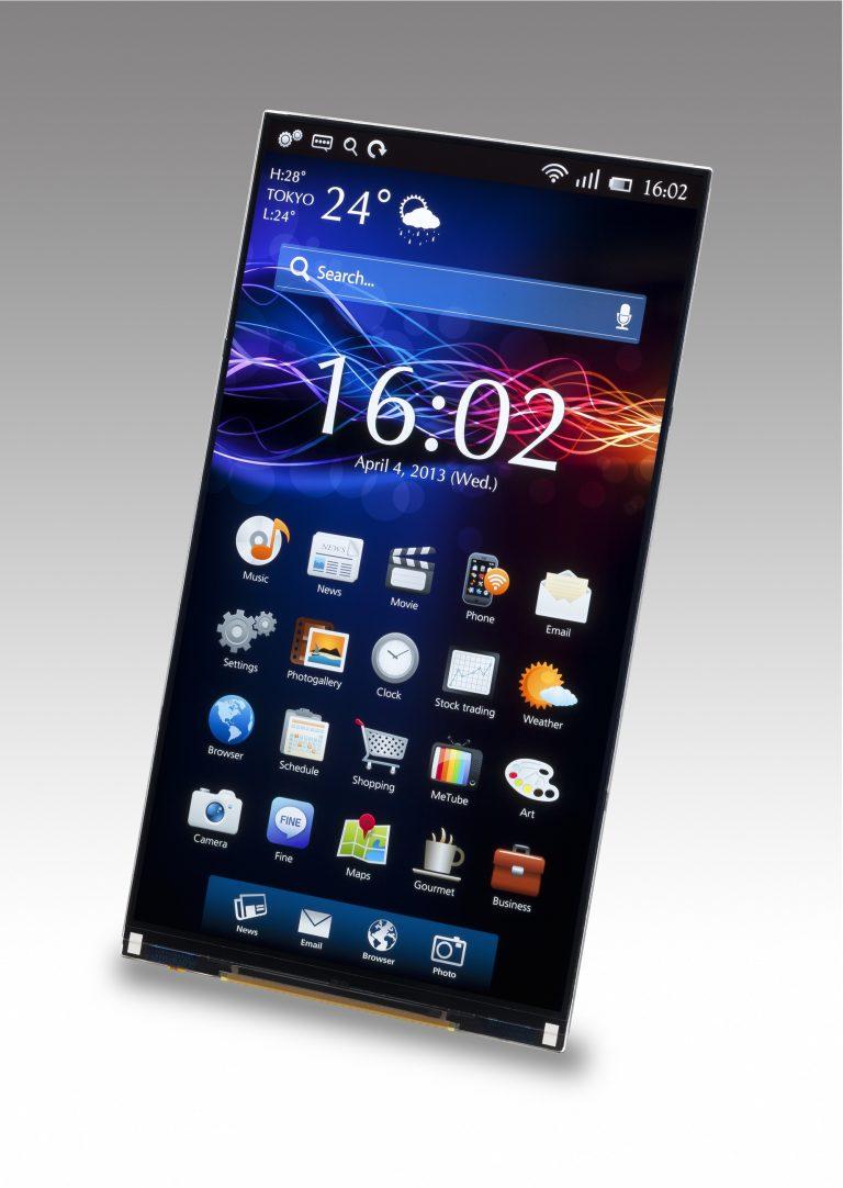 Así se ve una pantalla para smartphone sin marcos alrededor - TekPulse
