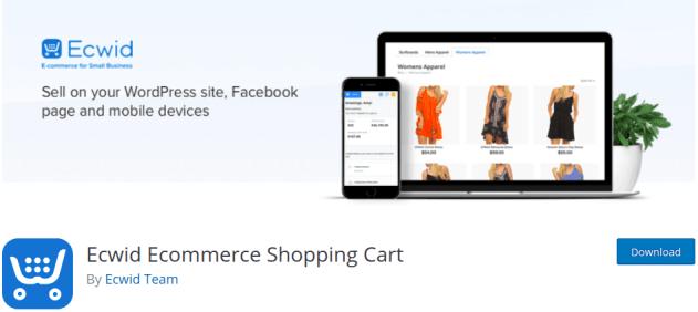 ECWID Commerce Cart Tekraze