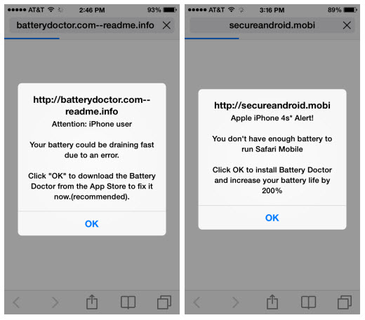 Safari browser redirects on iPhone, iPad - Check your router