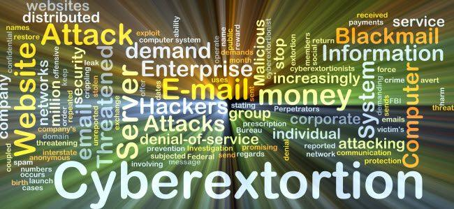 cyberextortion DDoS