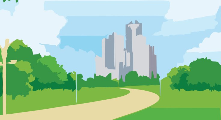 city-background-vector