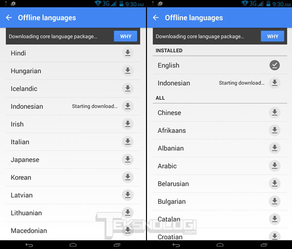 Cara Menggunakan Google Translate Secara Offline Tanpa