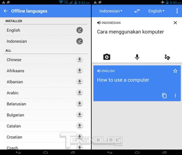 Cara menggunakan google translate secara offline tanpa koneksi google translate offiline tanpa koneksi internet stopboris Images