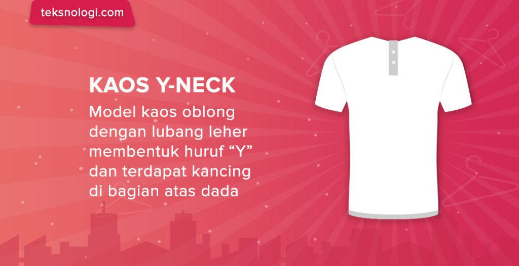 model-kaos-y-neck-shirt