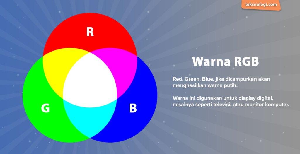 apa itu rgb dan contoh warna rgb