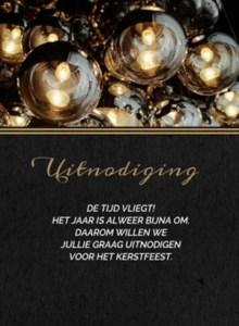 Kerst teksten uitnodiging