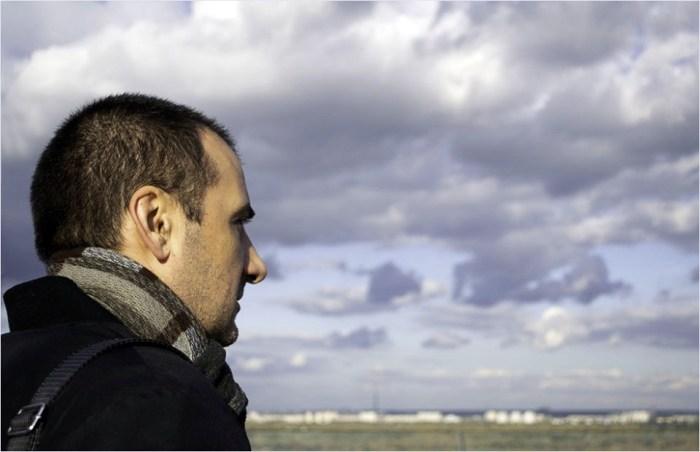 Мілан Загорац у Києві. Фото Оляни Рути