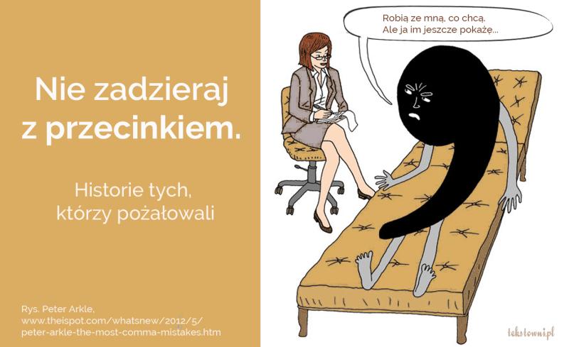 śmieszne błędy, Niezadzieraj zprzecinkiem. Historie tych, którzypożałowali, Tekstowni.pl