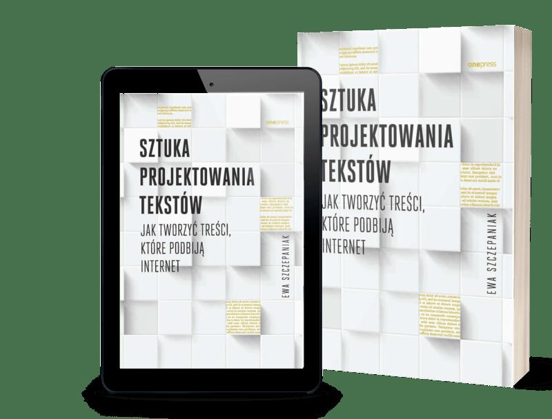 książka sztuka projektowania tekstów