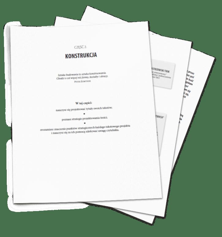 """książka o pisaniu, """"Sztuka projektowania tekstów"""", Tekstowni.pl"""