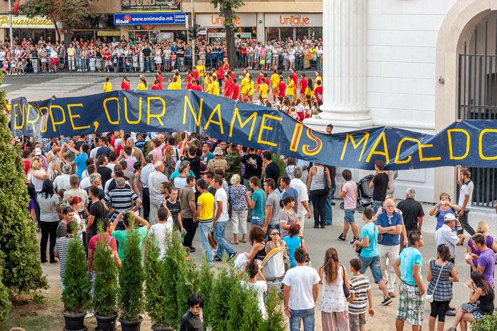 Republikken Makedonien bliver til Nordmakedonien