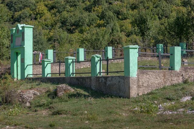 Serbisk mindelund - Sønderjyder i Makedonien