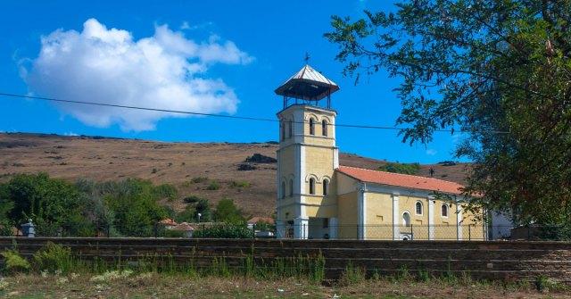 Kirken i Topolchani - Sønderjyder i Makedonien