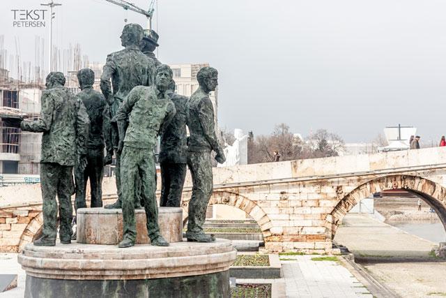 Skopje 2014 - Bådsmændene fra Thessaloniki