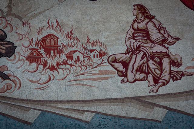 Skanderbeg-pladsen, Halili dhe Hajria, Skopje, Republikken Makedonien