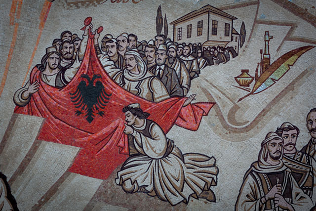 Skanderbeg-pladsen, Prizren-ligaen, Skopje, Republikken Makedonien