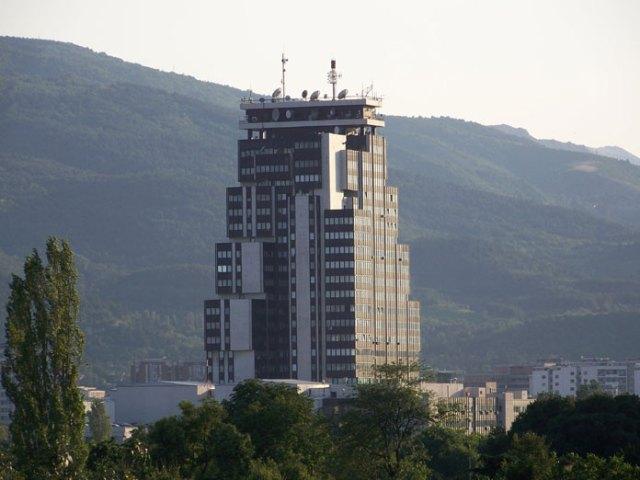 MTV bygning Skopje