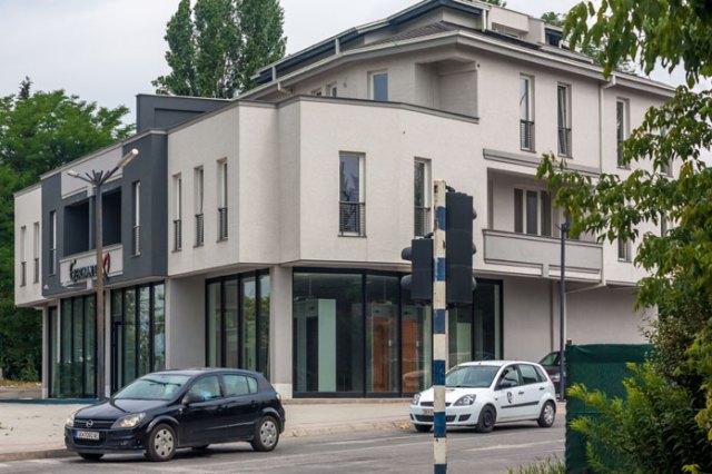 Nyopført bygning på Boulevard Nikola Karev