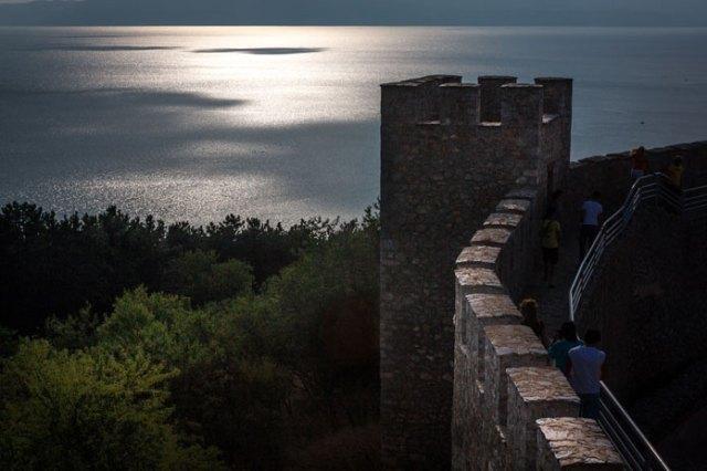 Zar Samuels borg i Ohrid