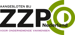 Aangesloten bij ZZP Nederland.
