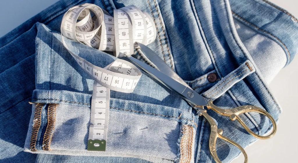 spodnie z second-hand