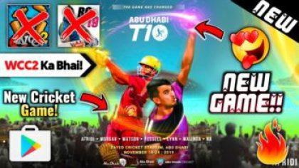 Abu Dhabi T10 League Cricket Game