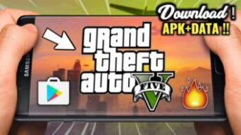 [400MB] GTA 5 Apk+OBB Download For Android | GTA V Realistic Graphic